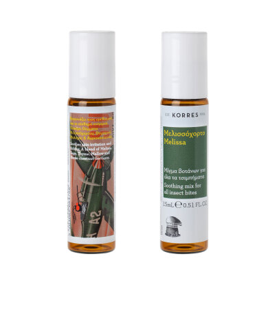 Korres Stick Μελισσόχορτο Μίγμα Βοτάνων για Τσιμπήματα 15ml