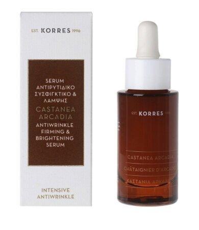 Korres Καστανιά Αρκαδική Serum Αντιρυτιδικό,Συσφικτικό & Λάμψης 30ml
