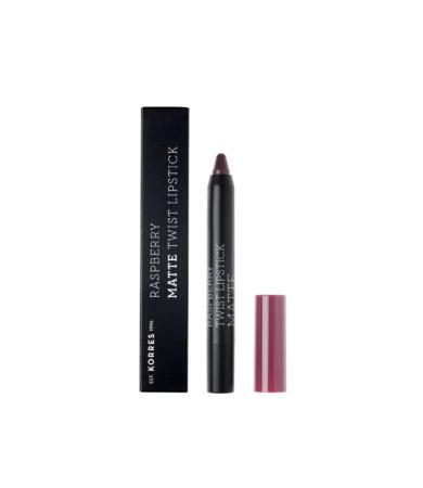 Korres Raspberry Matte Twist Lipstick Daring Plum 2.5g