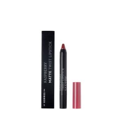 Korres Raspberry Matte Twist Lipstick Addictive Berry 2,5g