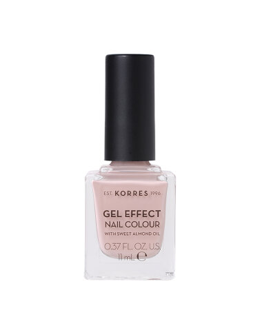 Korres Gel Effect Nail Colour No.32 Cocos Sand Βερνίκι Νυχιών 11ml