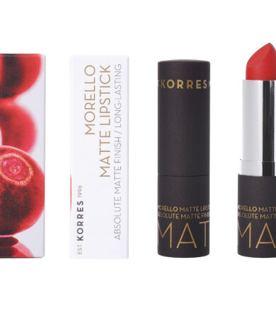 Korres Morello Matte Lipstick 54 Classic Red 3.5gr