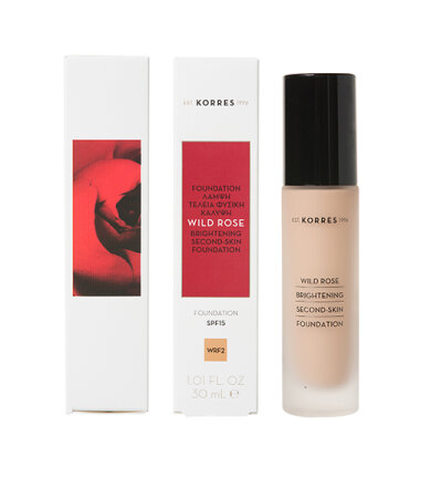 KORRES WILD ROSE SPF15 Foundation WRF2