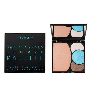 Korres Sea Minerals Summer Palette Multi-Purpose/Sun-Kissed Look Blue Waves 13gr