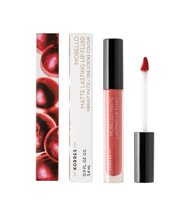 Korres Morello Matte Lasting Lip Fluid 41 Pink Lemonade 3,4ml