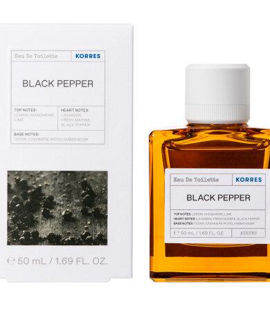 Korres Black Pepper Eau De Toilette 50ML