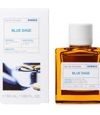 Korres Blue Sage Eau De Toilette Ανδρικό Άρωμα 50ml