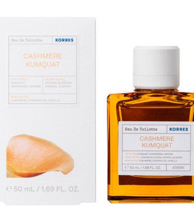 Korres Cashmere Kumquat Eau De Toilette Άρωμα για Γυναίκες 50ml