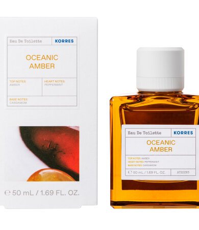 Korres Oceanic Amber Eau De Toilette 50ml