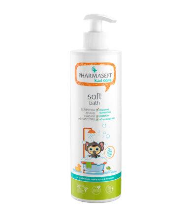 Pharmasept Kid Soft Bath, Εξειδικευμένο Παιδικό Αφρόλουτρο για Σώμα και Ευαίσθητη Περιοχή 500ml