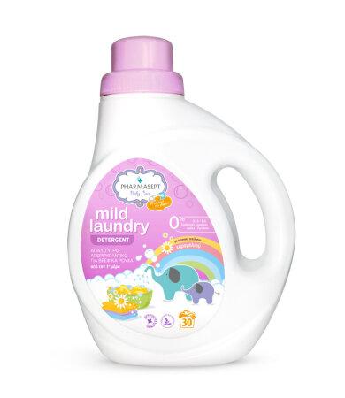 Pharmasept Baby Mild Laundry Απαλό Υγρό Απορρυπαντικό 1Lt