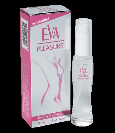 Intermed Εva Pleasure Λεπτόρρευστη Λιπαντική Γέλη 24ml