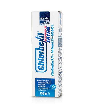 Intermed Chlorhexil Extra, Στοματικό Διάλυμα 250ml