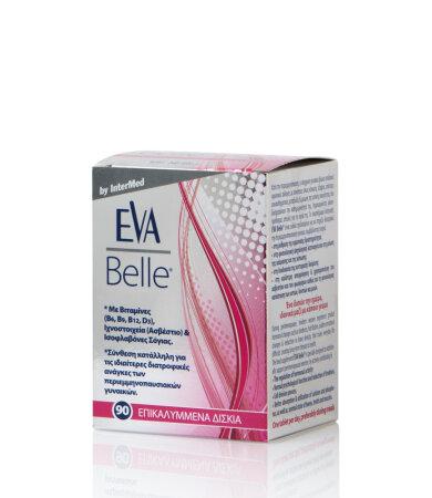 Eva Belle Συμπλήρωμα Διατροφής για τις Ανάγκες των Περιεμμηνοπαυσιακών Γυναικών 90 Tabs