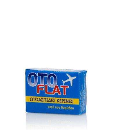 OtoFlat Κέρινες Ωτοασπίδες, 2 τεμάχια