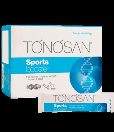 Uni-Pharma Tonosan Sports Booster 20 φακελίσκοι