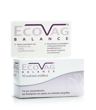 Frezyderm Ecovag Balance, 10 Κολπικά Υπόθετα