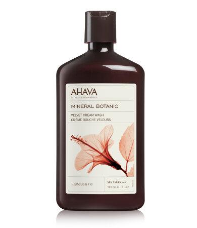 Ahava Mineral Botanic Cream Wash - Hibiscus & Fig, Αφρόλουτρο Με Άρωμα Ιβίσκου & Σύκου, 500ml