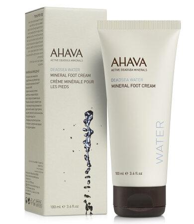 Ahava Dead Sea Water Mineral Foot Cream, Βελούδινη Κρέμα Ποδιών 100ml