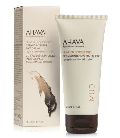 Ahava Dead Sea Mud Dermud Intensive Foot Cream Πλούσια Κρέμα Ποδιών 100ml