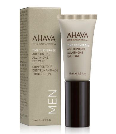 Ahava Men Care Age Control All-In-One Eye Care Κρέμα Ματιών Για Άνδρες 15ml