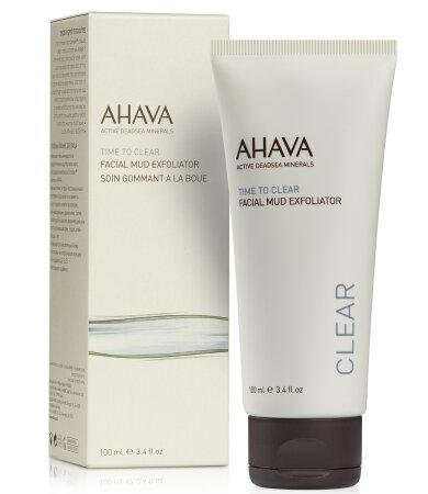 Ahava Time To Clear Facial Mud Exfoliator, Απολέπιση Προσώπου 100ml