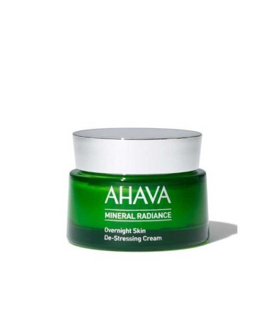 Ahava Mineral Radiance Overnight De-Stressing Cream, Θρεπτική Κρέμα Νυχτας 50ml