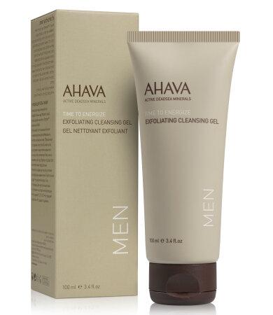 Ahava Men Care Exfoliating Cleansing Gel, Ζελέ Καθαρισμού & Απολέπισης Για Άνδρες 100ml
