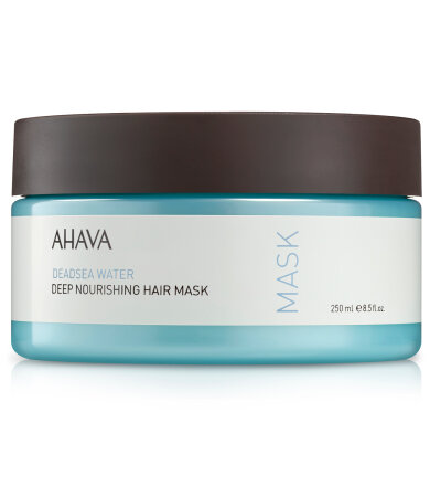 Ahava Dead Sea Water Deep Nourishing Hair Mask, Θρεπτική Μάσκα Μαλλιών 250ml
