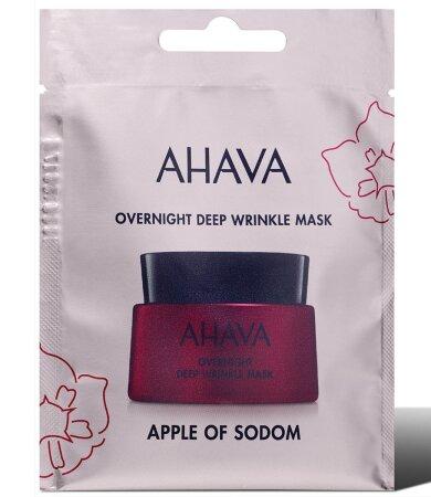 Ahava Apple Of Sodom Overnight Deep Wrinkle Mask, Μάσκα Για Άμεση Λείανση των Ρυτίδων 6ml