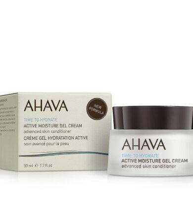 Ahava Time To Hydrate Active Moisture Gel Cream, Ενυδατικό Ζελέ Κρέμας Προσώπου 50ml