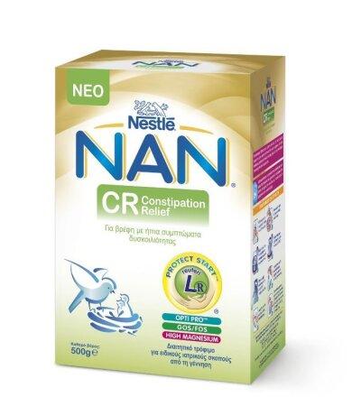 Nestle Nan CR - Comfort Βρεφικό Γάλα 500gr
