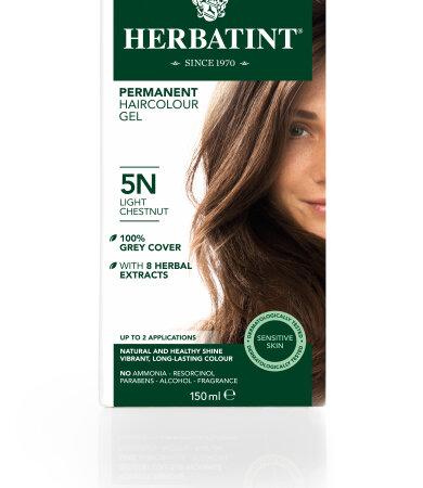 Herbatint 5N Καστανό ανοικτό Βαφή Μαλλιών 150ml