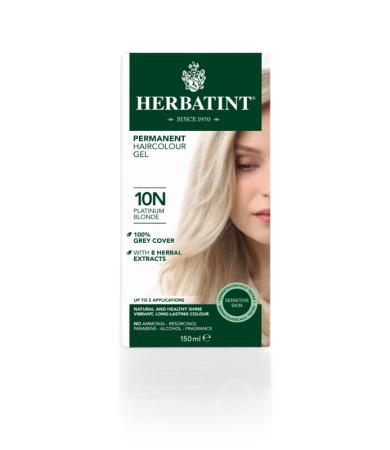 Herbatint Βαφή Μαλλιών 10Ν Ξανθό Πλατινέ