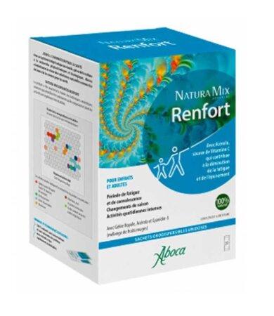 Aboca Natura Mix Support Συμπλήρωμα Διατροφής για Μείωση της Κόπωσης & Καταπόνησης, 20 Φακελίσκοι