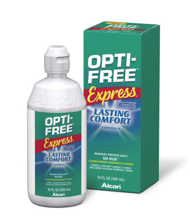 Alcon Opti Free Express Διάλυμα Απολύμανσης Πολλαπλών Χρήσεων 355ml