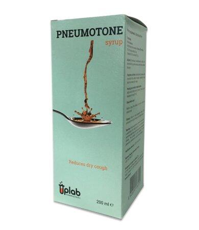 Uplab Pneumotone syrup, σιρόπι για την ανακούφιση από τον ξερό βήχα 200ml