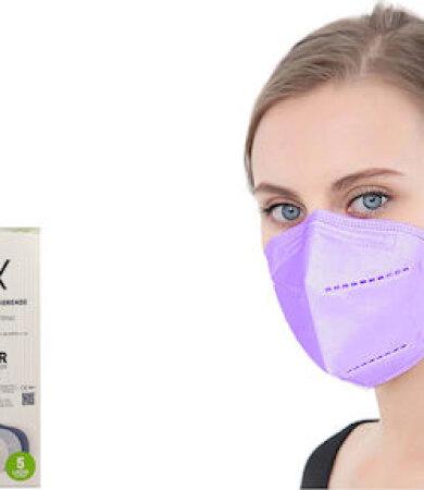 Famex FFP2 NR Lilac 10pcs Particle Filtering Half Mask