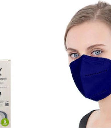 Famex FFP2 NR midnight blue 10pcs Particle Filtering Half Mask
