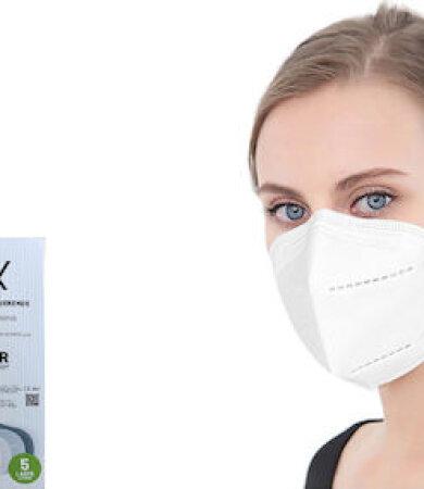 Famex FFP2 NR White 10pcs Particle Filtering Half Mask