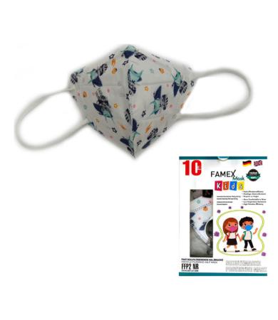 Famex Kids Mask FFP2 NR Astrokid 10pcs