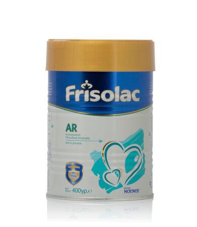 Frisolac AR Βρεφικό Γάλα Ειδικής Διατροφής από τη Γέννηση έως το 12ο μήνα 400g