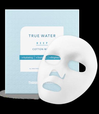 Thank You Farmer True Water Deep Cotton Mask 1pc