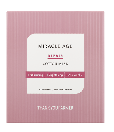 Thank You Farmer Miracle Age Repair Cotton Mask 1pc